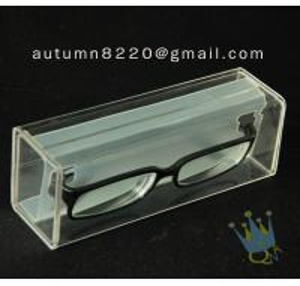 Quality BO (33) purple acrylic cosmetic case wholesale