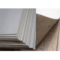 Quality Environmently Book Cover Strawboard Paper 2.03mm /1300g with Full Side Grey wholesale