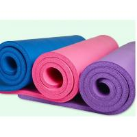 China High Quality 20MM Thickening PVC Yoga Mat Fitness Non Slip Mat Floor Mat With Brand Your Own Logo , Good Elasticity on sale