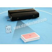 China Mans Leather Wallet Camera Poker Scanner To Scan Marked Poker Cards Bar Codes on sale