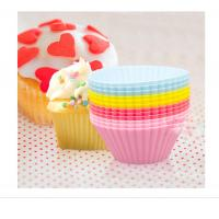 Quality High Hemperature Silicone Mold Cake Mold Silicon Baking Cups Muffin Cup utensils for baking wholesale
