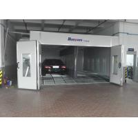 Buy cheap Inner Ramp Downdraft Auto Paint Booth , Custom Paint Booth With LED Riello Burner product