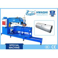 Quality Car Alusil Oil Tank Straight Rolling Auto Welding Machine 3 Phase Speed Regulator wholesale