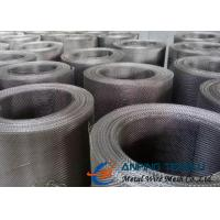 Quality Plain Weave Square Woven Wire Mesh, SS304 & SS316 With Standard AISI wholesale