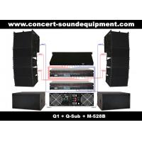 "Quality Nightclub Sound Equipment , 480W Full Range Compact Line Array Speaker With 1.4""+2x10"" Neodymium Drivers wholesale"