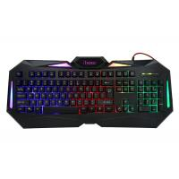 Quality Illuminated Logo Wired Gaming Computer Keyboard , Gk601backlit Gaming Keyboard For Pc wholesale