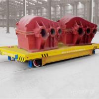 China 25T conductor rail workshop use powered electric vehicle on rail on sale