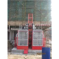 Quality Painted Material Construction Lifter / Construction Site Lift For Industrial for sale