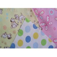 Quality Twill Cotton Flannel Cloth Fire Resistant Printed Single Side Flannelette wholesale