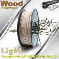 Quality 0.8KG / roll 3D Printer 1.75mm Wood Filament Material Compatible With Makerbot / UP wholesale