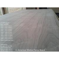 Quality American Walnut Fancy Plywood 1220 x 2440mm wholesale