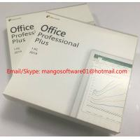 Quality Online Activation Computer Software Download , Ms Office 2019 Pro Plus DVD Pack wholesale