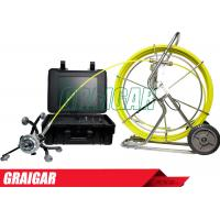 Quality Sewer inspection camera system Pipeline Inspection 360 degree rotating pan and tilt wholesale
