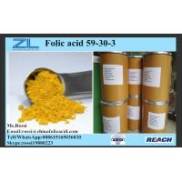 Quality Powder Vitamin B9 Food Additives Ingredients Chemical Raw Material wholesale