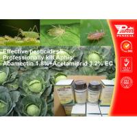 Quality Abamectin 1.8%+Emamectin 3.2% EC Agro Pesticides 71751-41-2 135410-20-7 wholesale