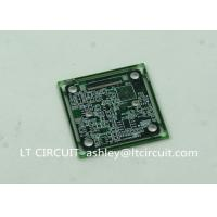 Quality Immersion Silver Multilayer PCB BGA IC Slots Cutout Green Solder Mask wholesale