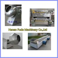 China peanut coating machine, flour coated peanut machine on sale