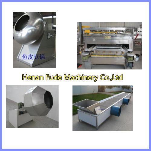 Cheap peanut coating machine, flour coated peanut machine for sale