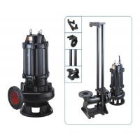 Quality Cold Rotor Stator Cast Iron Sewage Pump OEM Accepted Easy Installation wholesale