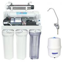 Quality Portable Reverse Osmosis Water Filtration System with 6W Ultraviolet sterilizer wholesale