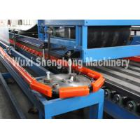 Quality Thermal Polyurethane Sandwich Panel Manufacturing Line Rubber Double Conveyor wholesale