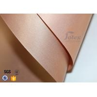 Quality 2PCS Coppery Reusable Non Stick Teflon PTFE Silicone Oven Liner BBQ Grill Mat wholesale