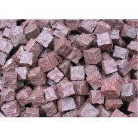 Quality Granite Outdoor Natural Paving Stones For Garden / Patio Red Porphyry wholesale
