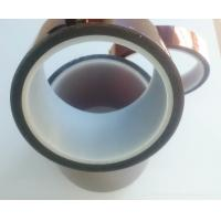 China Polyimide Kapton Tape High cohesive force and anti-corrosion 66m Length on sale