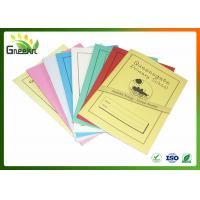 Quality A5 210mm * 148mm Size Inner Lined Exercise Books for Education Institutions wholesale