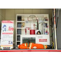 Quality Gross Weight 7880kg Industrial Fire Truck , Measuring Meter Heavy Rescue Fire Truck wholesale