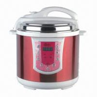 China 4/5/6L Electric Pressure Cooker with Non-stick Teflon Coating on sale