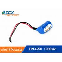Quality ER14250H with Axis 3.6V 1.2Ah memory back up battery wholesale