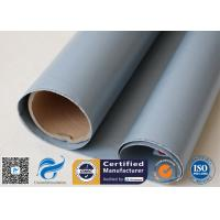 Quality 7628 0.3mm Grey Silicone Coated Fiberglass Fabric For Anti Corrosion Materials wholesale