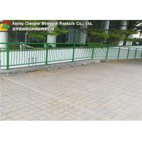 Quality Q235 Wire Mesh Fence 0.1 - 2m Width Concise Grid Structure For Airport / Stadium wholesale