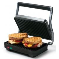Buy cheap 2 slices panini grill, with S/S housing, Die Cast Aluminum Arms, GS/CE/EMC/LVD from wholesalers