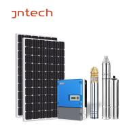Quality Solar Borehole Pump Kit / Solar Based Irrigation System With MPPT Pump VFD Drive wholesale