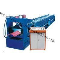 Quality 7.5Kw Tile Roof Ridge Cap Roll Forming Machine 0.3mm - 0.7mm for Steel Prefab House wholesale