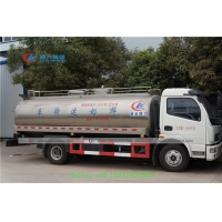 China Dongfeng 6-8m3 stainless steel tank Milk Delivery Truck Milk Tanker Truck milk transport truck on sale