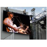 China Outdoor Billboard Advertising Led Display Screen For Media Advertising / Transportation on sale