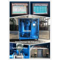 Quality High Vacuum Transformer Oil Purification Machine ZYD-150 Oil Flow 0~9000 Liters / Hour wholesale