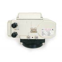 China Two Auxiliary Limit Switches 400Nm NEMA4 DC Rotary Actuator on sale