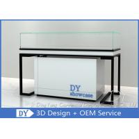 Quality Metal Woodjewelry shop counter / Jewelry Counter Display Cases wholesale