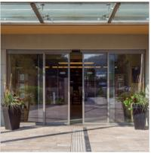 Quality Safety heat / cold resistant motorized sliding door , hospital entrance auto slide door wholesale