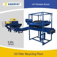 Quality CE Certification Two Shafts Oil Filter Shredder/Oil Filter Recycling Line with UK brand wholesale