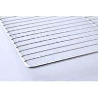 Quality Food Grade Stainless Steel BBQ Tray / Wire Mesh Barbecue Grill Tray wholesale