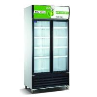 Quality Vertical Showcase 818L Commercial Refrigerator Freezer LC-608M2AF For Supermarket wholesale