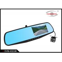Quality 1080P 720P Car Front and Rear DVR Mirror Monitor With Dual Cameras / Driving Video Recorder wholesale