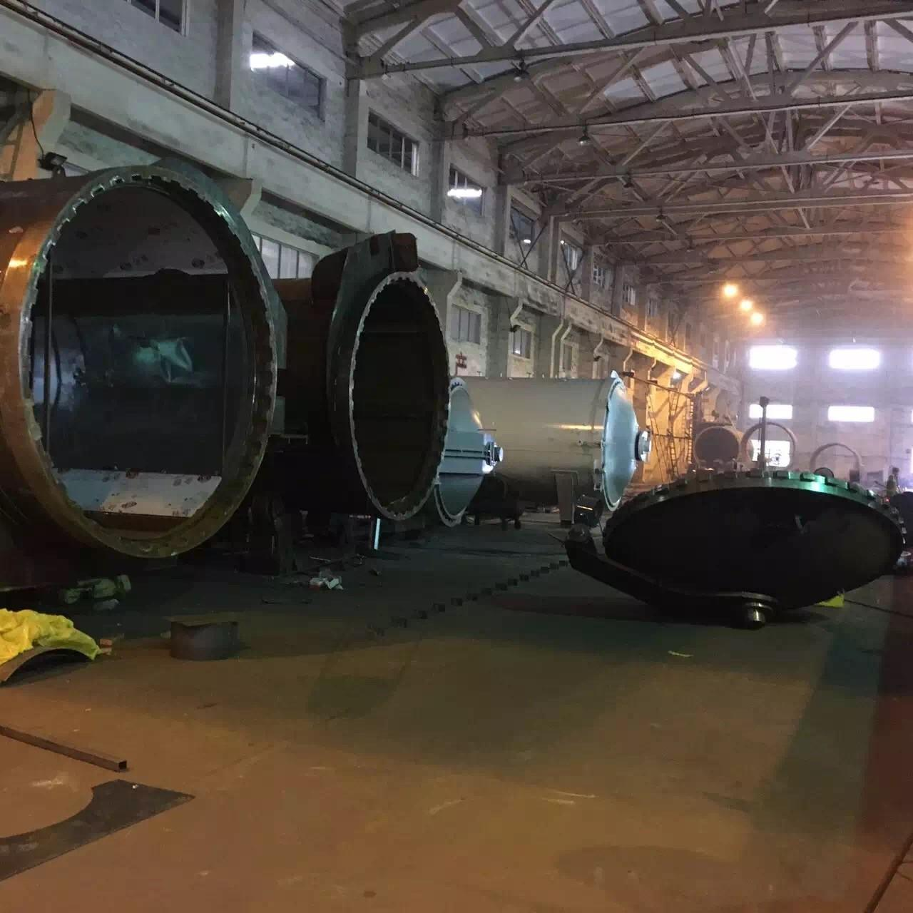 Wood Autoclave With Safety Interlock , Automatic Control High Temperature And High Pressure