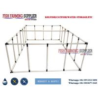 Quality Foldable Large Plastic Ponds for Aquarium Fish Farm wholesale