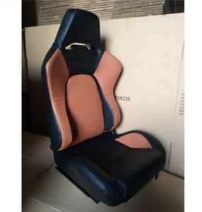 Quality JBR1056 PVC Sport Racing Seats With Adjuster / Slider Car Seats wholesale